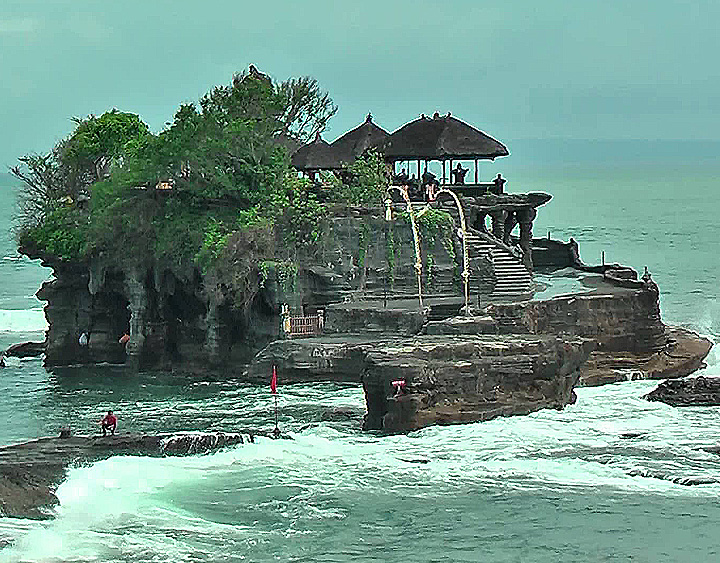 Trip to tanah Lot